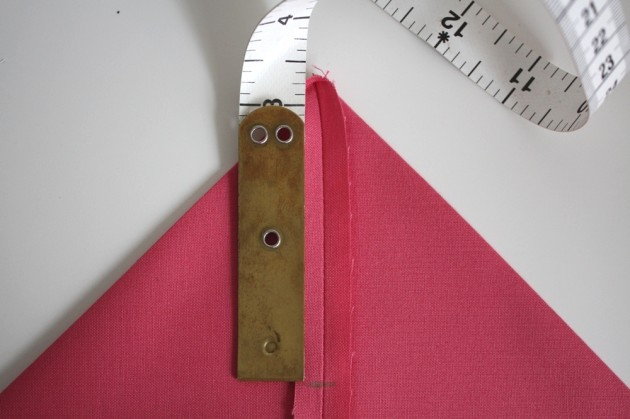 Measure lining corners