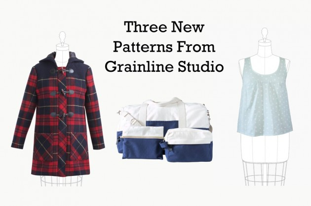 Three New Grainline Studio Patterns