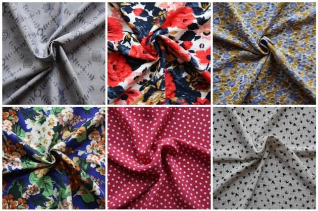 New Dressmaking Fabrics