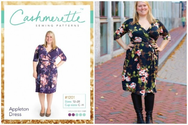 At long last a dress pattern for curvy figures!