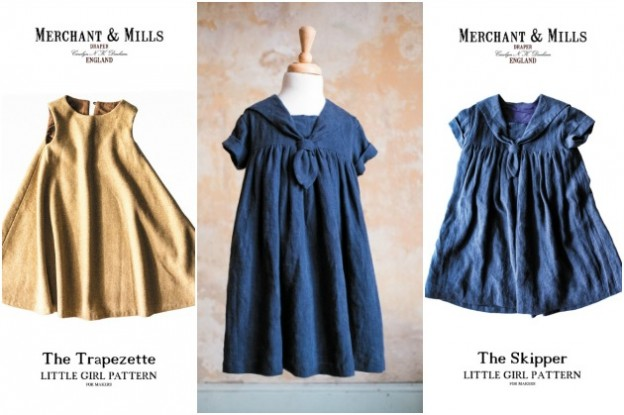 Merchant and Mills: Little Girl Patterns