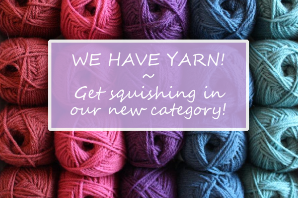 Knitting and Crochet Yarn Comes to Backstitch
