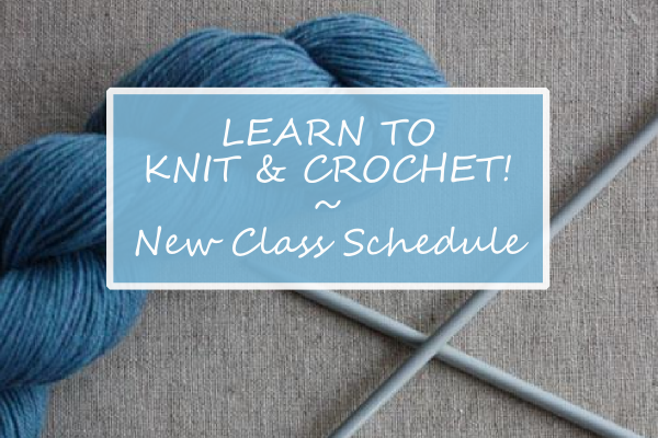 Learn to Knit and Crochet in our Cambridge Shop