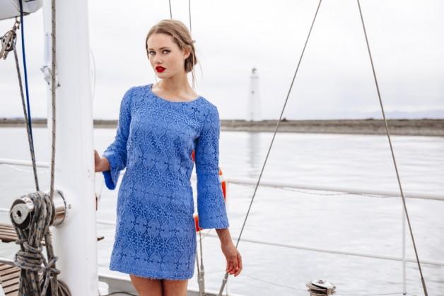 Papercut Sea-Bell Dress
