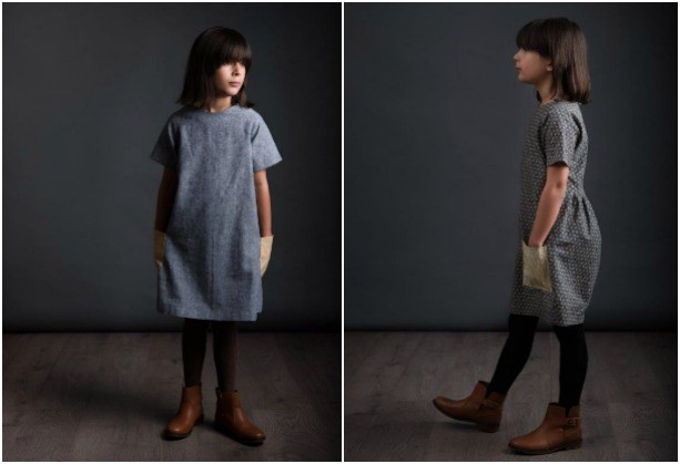 Avid Seamstress Gathered Dress and Raglan Dress