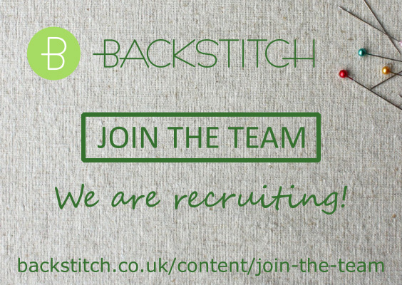 Join the Team! Backstitch is recruiting.