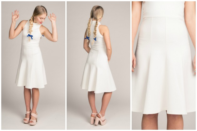 Named Patterns Beatrix Skater Dress