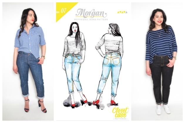 Closet Case Patterns Morgan Boyfriend Jeans