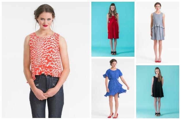 Papercut Patterns for Atelier Brunette fabrics