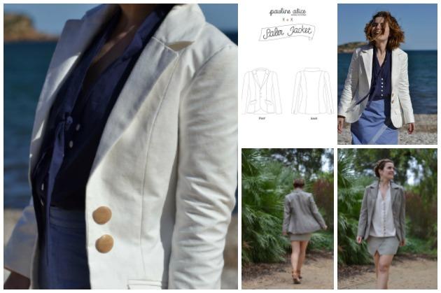 Pauline Alice Saler Jacket sewing pattern