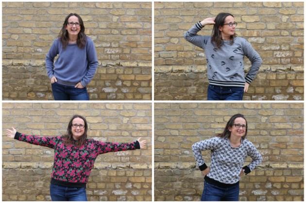 A Quartet of I AM Apollon Sweatshirts