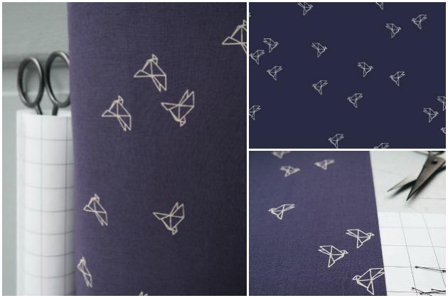Atelier Brunette Bye Bye Birdie cotton cambric