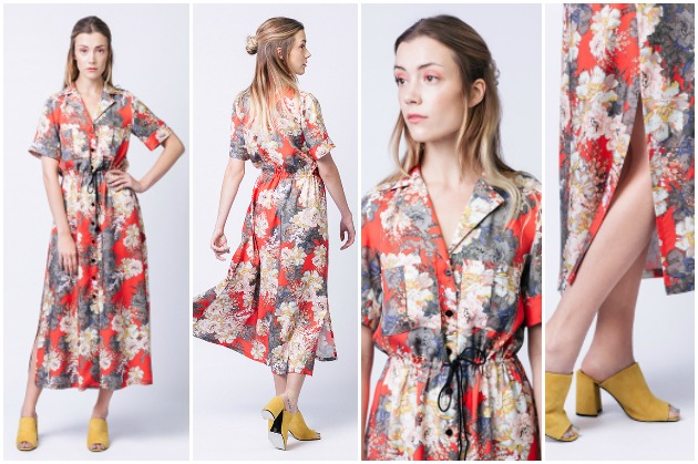 Named Clothing Playground Collection: Reeta Midi Shirt Dress