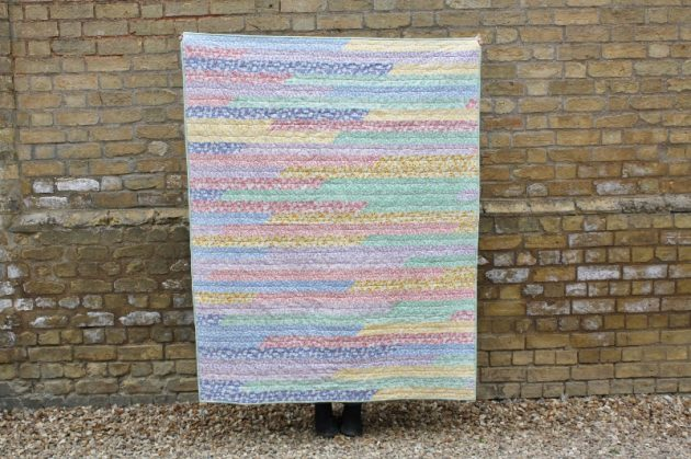 Speedy Jelly Roll Quilt, and a Class to Match!
