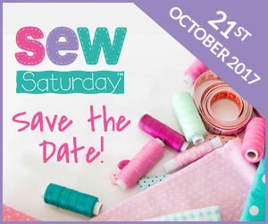 Sew Saturday is back for 2017!