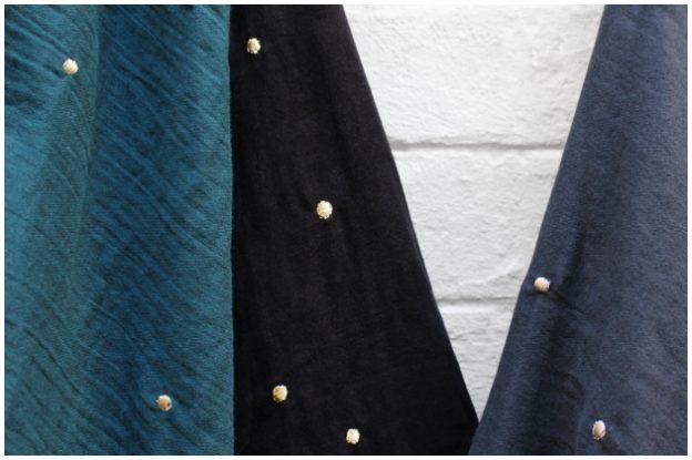 Atelier Brunette Stardust Cotton Double Gauze Fabrics