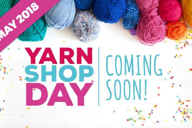 Yarn Shop Day 2018 at Backstitch
