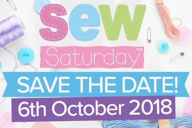 Celebrate Sew Saturday: 6th October 2018