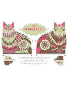 Marmaduke Cat Tea Towel