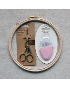Embroidery Starter SEt | Embroidery Kits | Backstitch