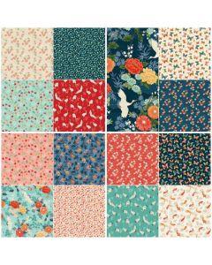 Michiko Bundle | Fat Quarter Bundles | Quilting Cotton | Backstitch