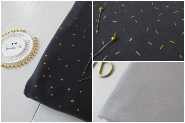 New: Atelier Brunette Sweatshirt Fabric