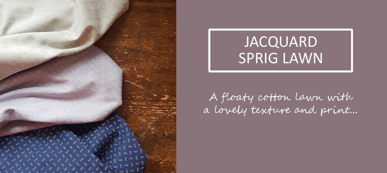 Jacquard Sprig Lawn