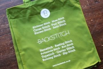 Backstitch Tote