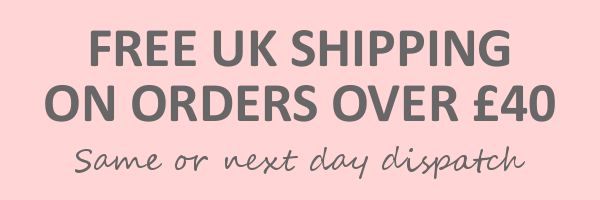 Free shipping on orders over £40