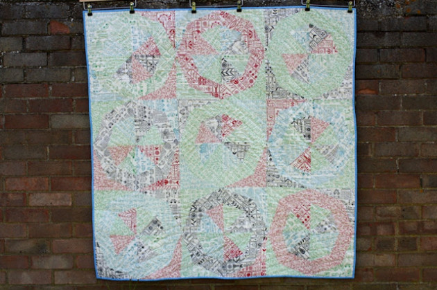 slow quilt movement and spinning stars