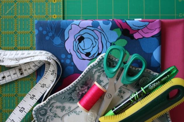 Simple Boxy Shopping Bag: Materials
