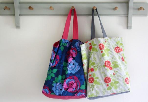 Simple Boxy Shopping Bag