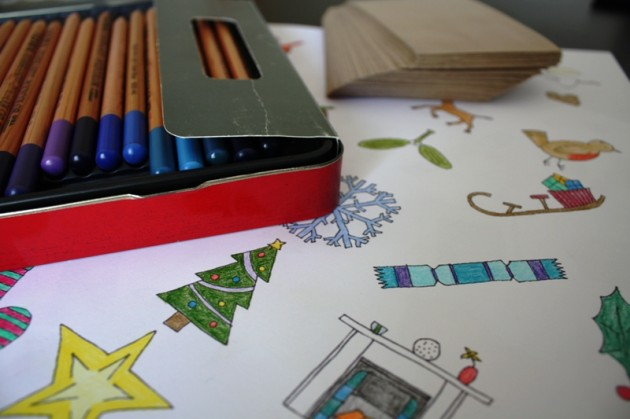 An Advent Calendar of the Colouring Kind