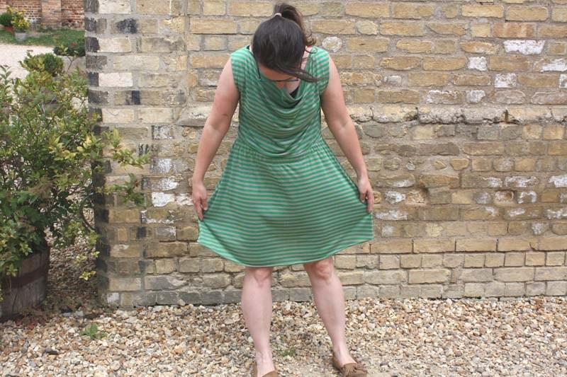 Colette Myrtle Knit Dress Pattern