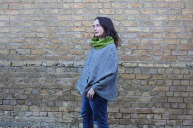 Popover Poncho Love (and Coating Fabric in Sale)