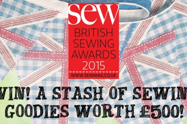 Win Prizes by Voting: British Sewing Awards 2015!