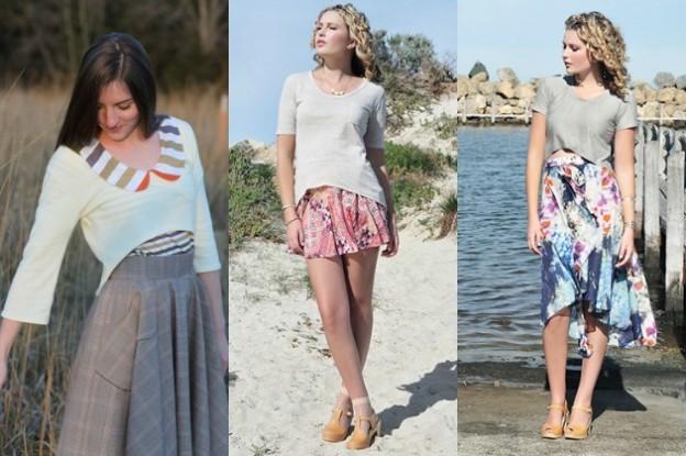 The return of Megan Nielsen's Briar Sweater and T-Shirt…