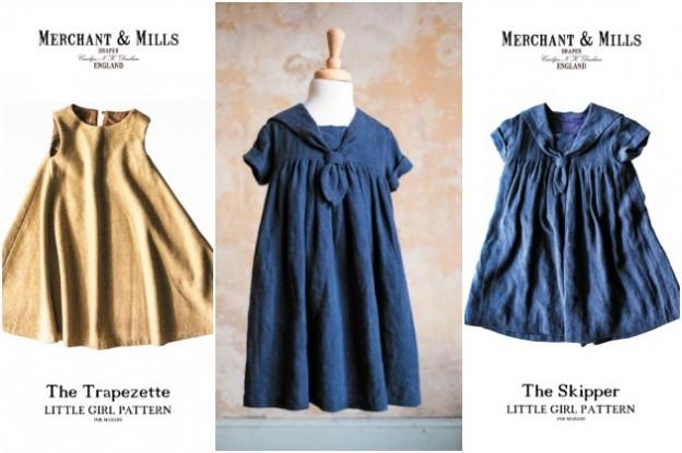 Merchant and Mills: Little Girl Patterns
