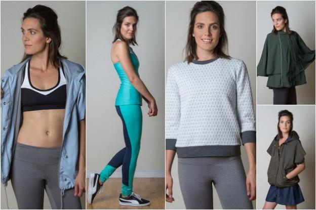 Sewaholic activewear sewing patterns