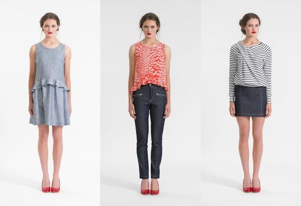 Papercut Patterns Dress, Tops, Jeans, Skirt