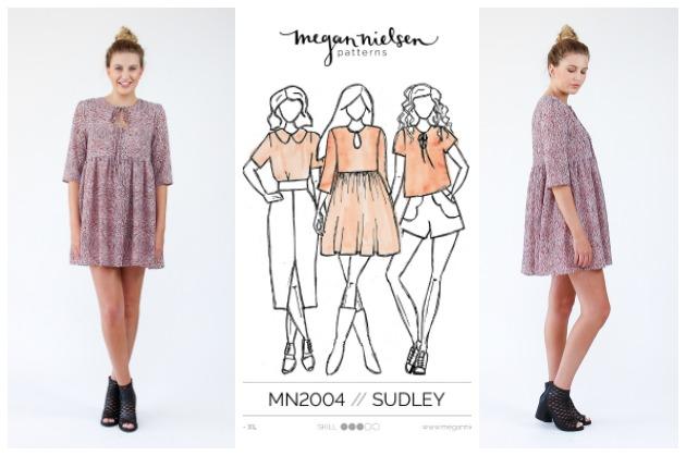 Megan Nielsen Sudley Dress