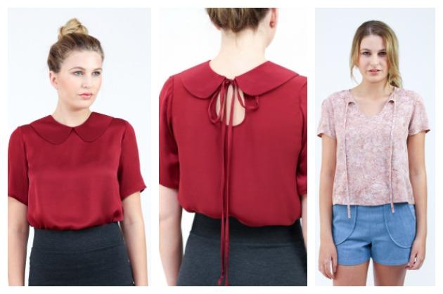Megan Nielsen Sudley blouse