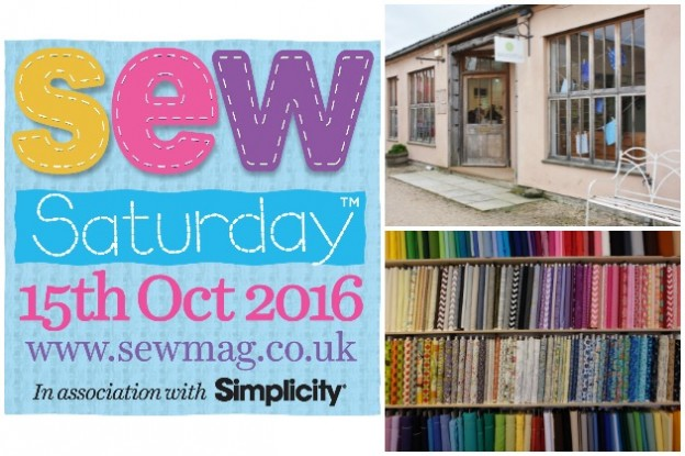 Sew Saturday 2016 at Backstitch