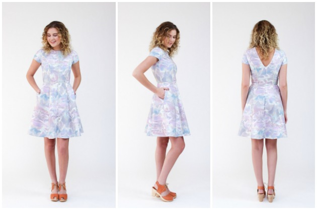 Megan Nielsen Karri Dress
