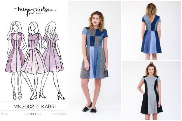 Megan Nielsen Karri Dress Sewing Pattern