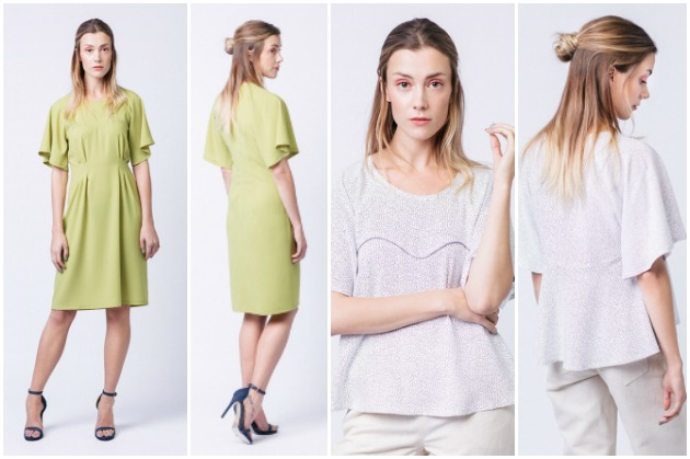 Named Clothing Playground Collection Ansa Butterfly Sleeve Dress & Top
