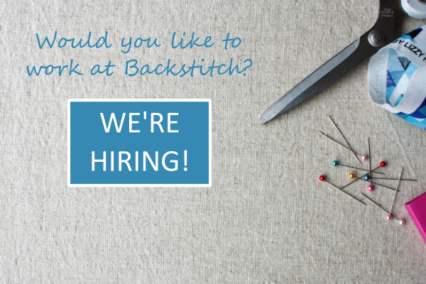We're Hiring! Work at Backstitch