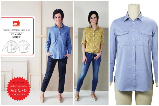 Liesl & Co Classic Shirt sewing pattern