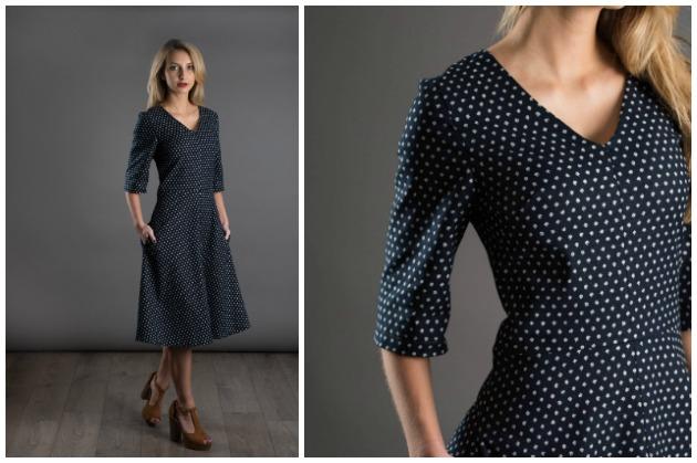 The Avid Seamstress A-Line Dress sewing pattern