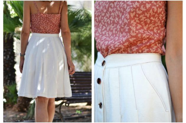 Pauline Alice Mirambell Skirt View B: Details